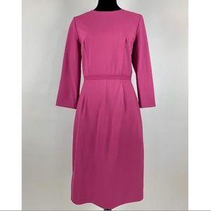 J.CREW Bracelet Dress Italian stretch wool 4 Tall